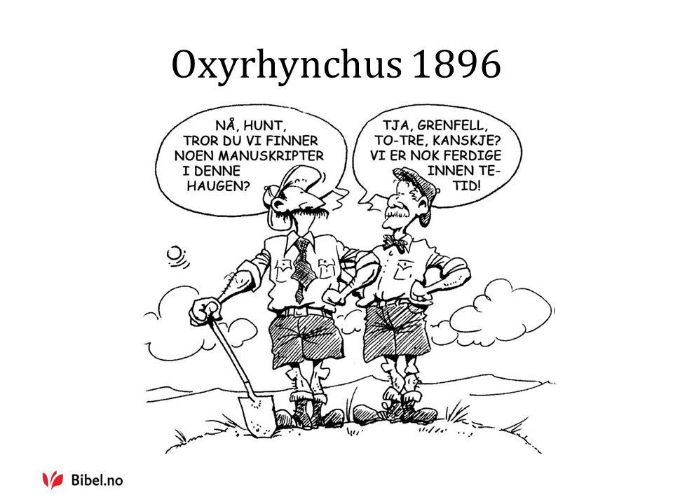 Oxyrhynchus 1896