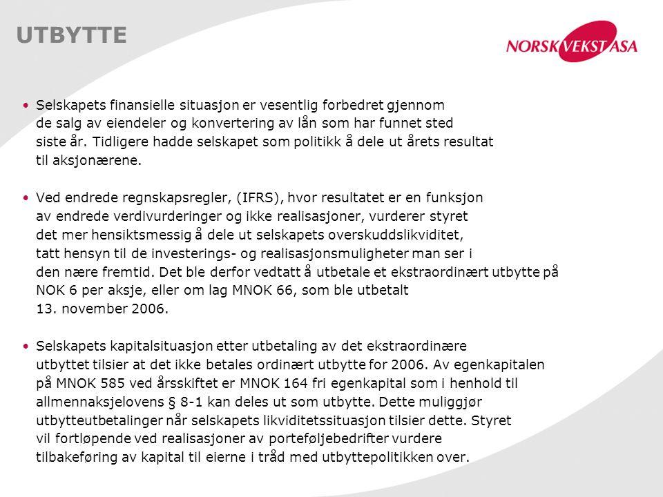 LEVERANDØR AV: - BUSINESS INTELLIGENCE SYSTEMER BASERT PÅ TEKNOLOGI FRA LEDENDE LEVERANDØRER OG EGEN KONSULENTVIRKSOMHET - DOKUMENTHÅNDTERINGSSYSTEMER BASERT PÅ EGEN TEKNOLOGI STERK VEKST I ETTERSPØRSEL I 2006, OMSETNINGEN ENDTE PÅ MNOK 304 MED EBITDA PÅ MNOK 29 BØRSNOTERT 11.