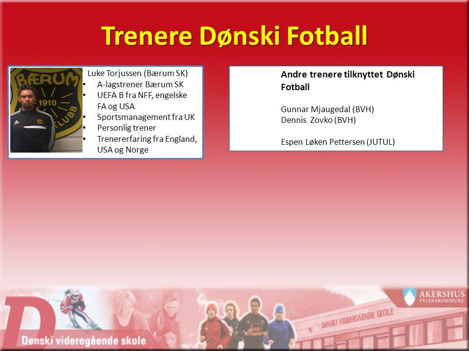 Planarbeid Dønski Fotball Årsplan Ukeplan