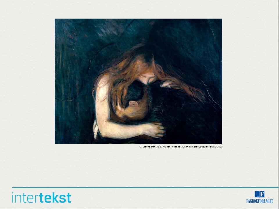 O. Væring Eftf. AS © Munch-museet Munch-Ellingsen gruppen/BONO 2015