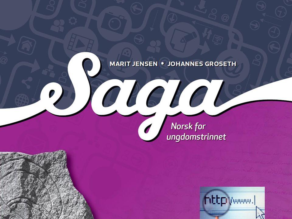Komponenter i Saga en grunnbok pr.årstrinn en lesebok pr.