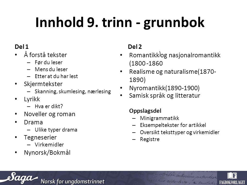 Innhold 9.