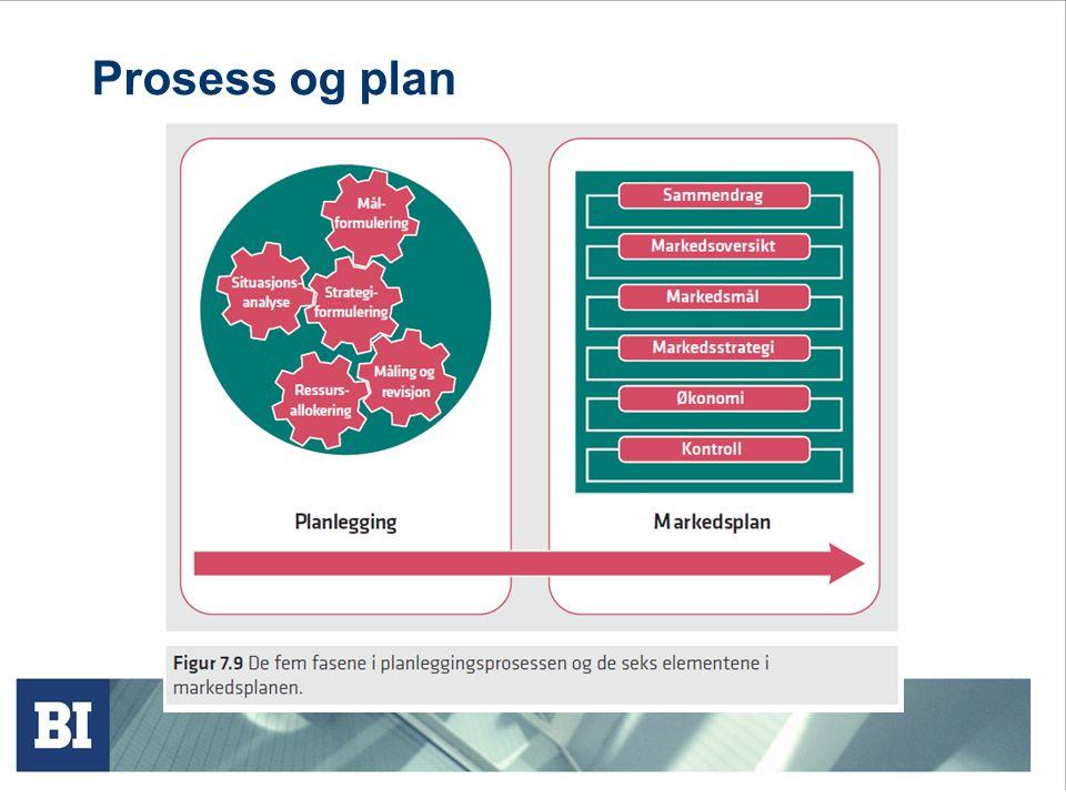 Prosess og plan
