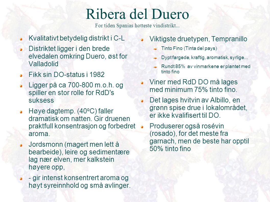 Ribera del Duero Dueros bredder