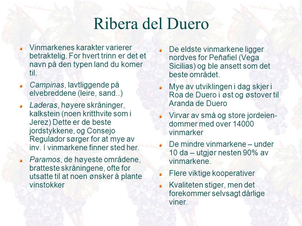 Ribera del Duero For tiden Spanias hotteste vindistrikt...