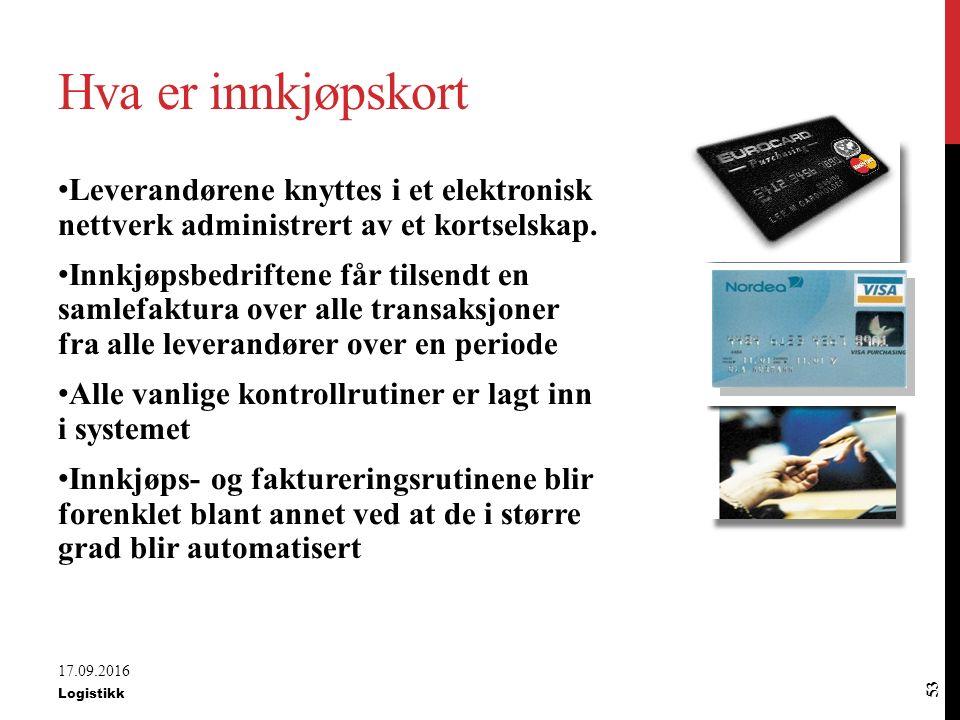 Innkjøpskort