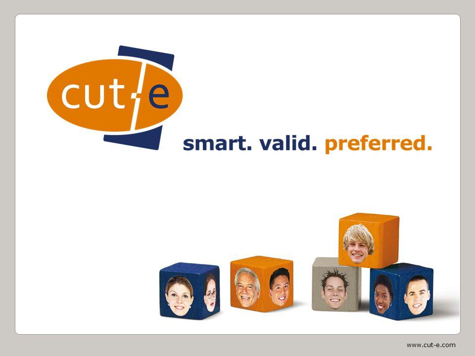 www.cut-e.com Hva vi gjør cut-e er verdensledende i design og implementasjon av internettbaserte tester og spørreskjemaer til bruk i rekruttering, seleksjon og utvikling av mennesker i en yrkesmessig kontekst cut-e kartlegger over 2 millioner mennesker per år i 70 land og på 20 språk cut-e kombinerer psykometri, innovativ teknologi og relaterte konsulenttjenester som eneste leverandør på markedet, leverer cut-e en komplett testportefølje sertifisert av Det Norske Veritas (DNV)