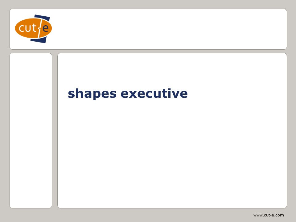 www.cut-e.com shapes executive