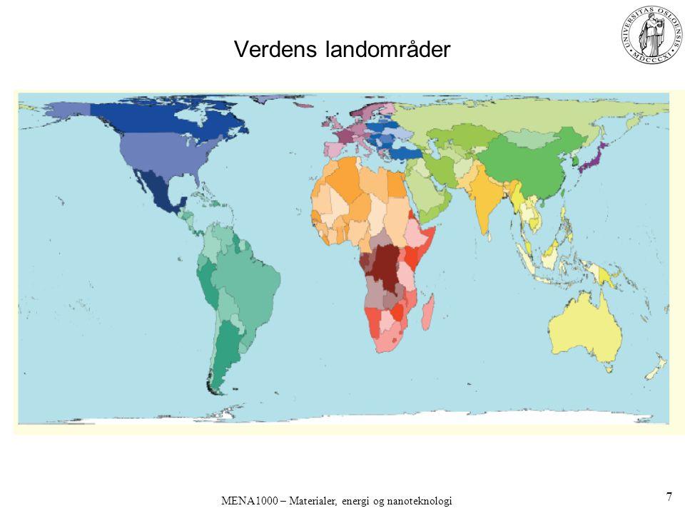 Verdens landområder 7
