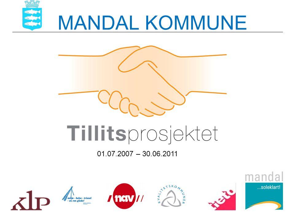 MANDAL KOMMUNE 01.07.2007 – 30.06.2011