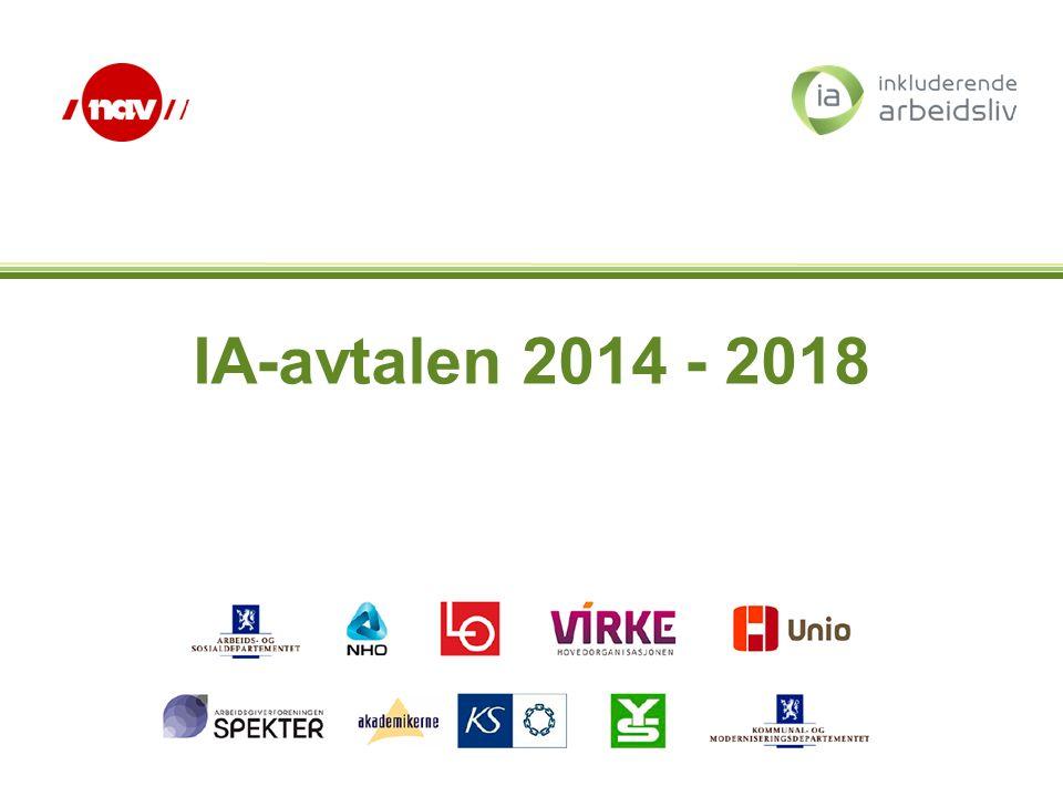 IA-avtalen 2014 - 2018