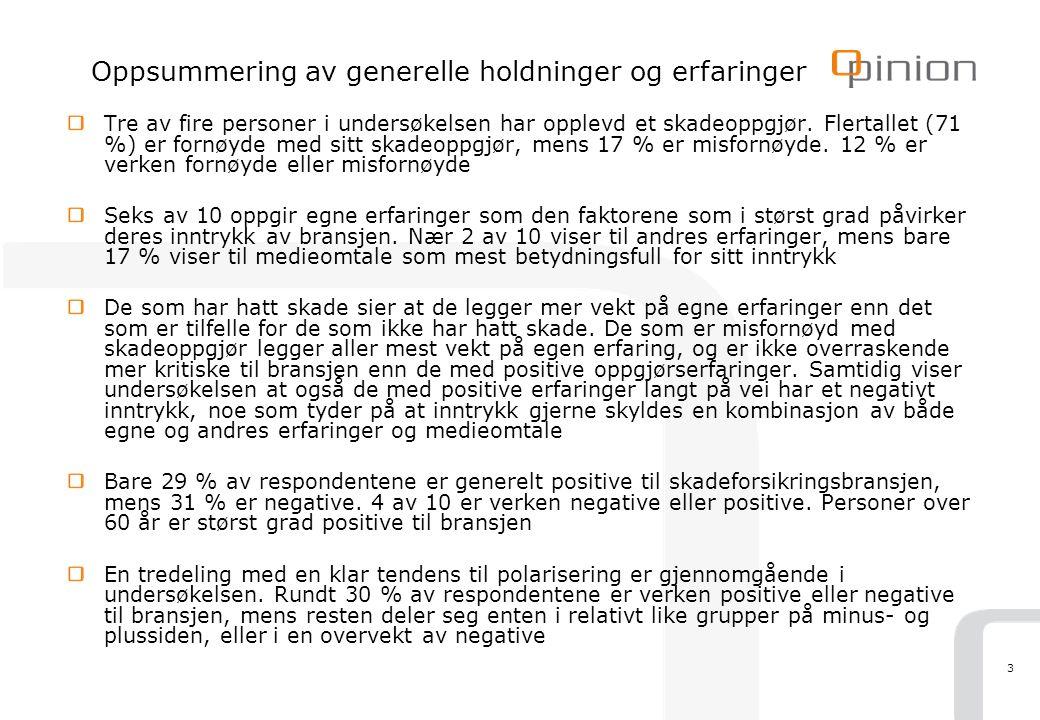 14 Om benchmark 2 Ulike måter å måle omdømme på Apelands WorkRep undersøkelse måler store bedrifters omdømme og attraktivitet som fremtidig arbeidsgiver blant norske studenter.