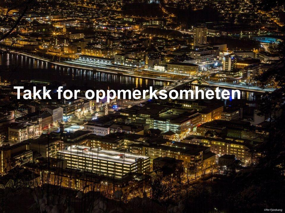 Drammen Eiendom KF Takk for oppmerksomheten