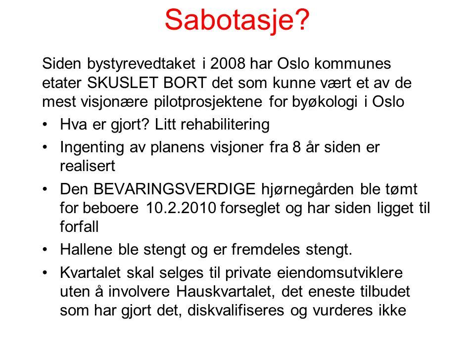 Sabotasje.