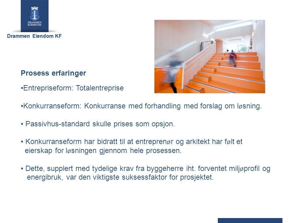 Drammen Eiendom KF NØKKELTALL Areal: 755 m2 (oppvarmet BRA) fordelt på 80 barnehageplasser.