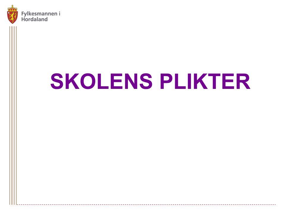 SKOLENS PLIKTER