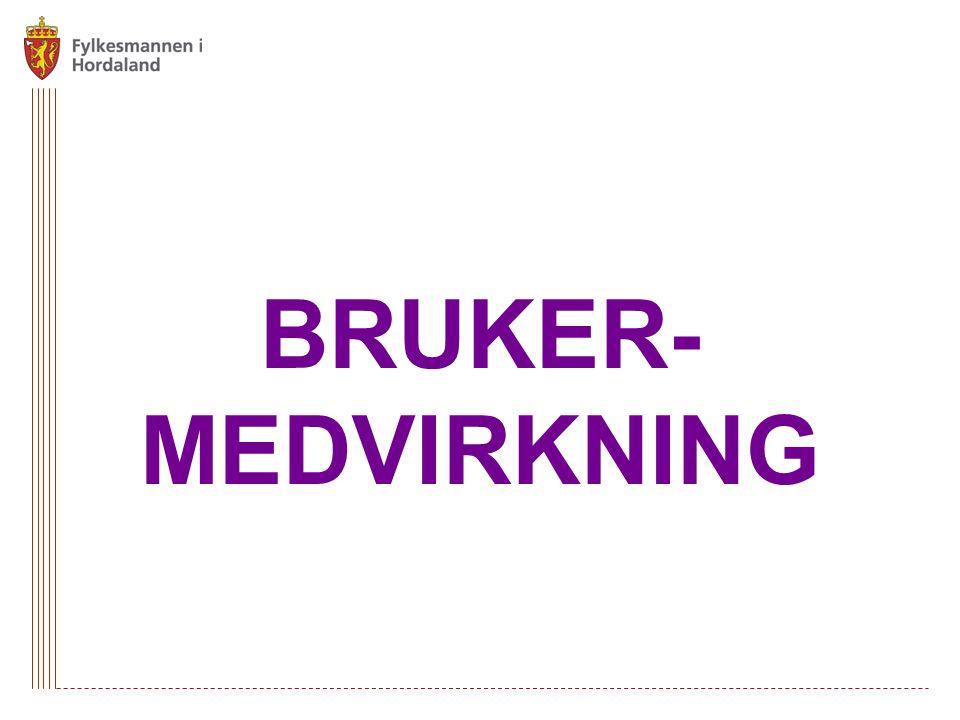 BRUKER- MEDVIRKNING