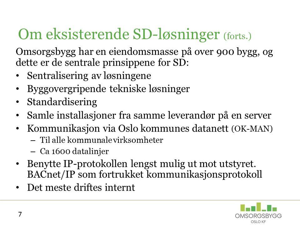 Innsendelse av innspill Leverandører kan sende skriftlige innspill til Omsorgsbygg Oslo KF Innspillene skal være maks 4 A4-sider Alle leverandører som leverer innspill, vil bli invitert til et dialog-møte på maks 1 time, hvor de får presentere sin løsning overfor Omsorgsbygg Oslo KF.