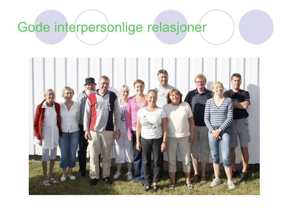 Gode interpersonlige relasjoner