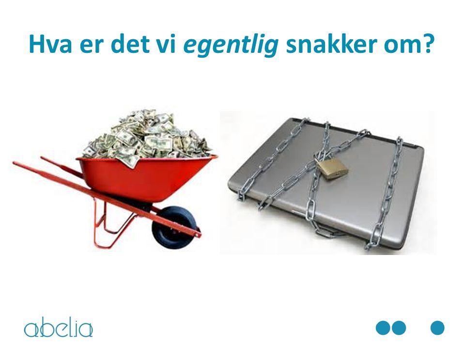 Abelia Dersom Norge satser på forskning og innovasjon på dette området, legger vi også grunnlaget for å omsette kunnskapen til ettertraktede produkter og tjenester, og kan trekke veksler på et av våre konkurransefortrinn: At vi er til å stole på.