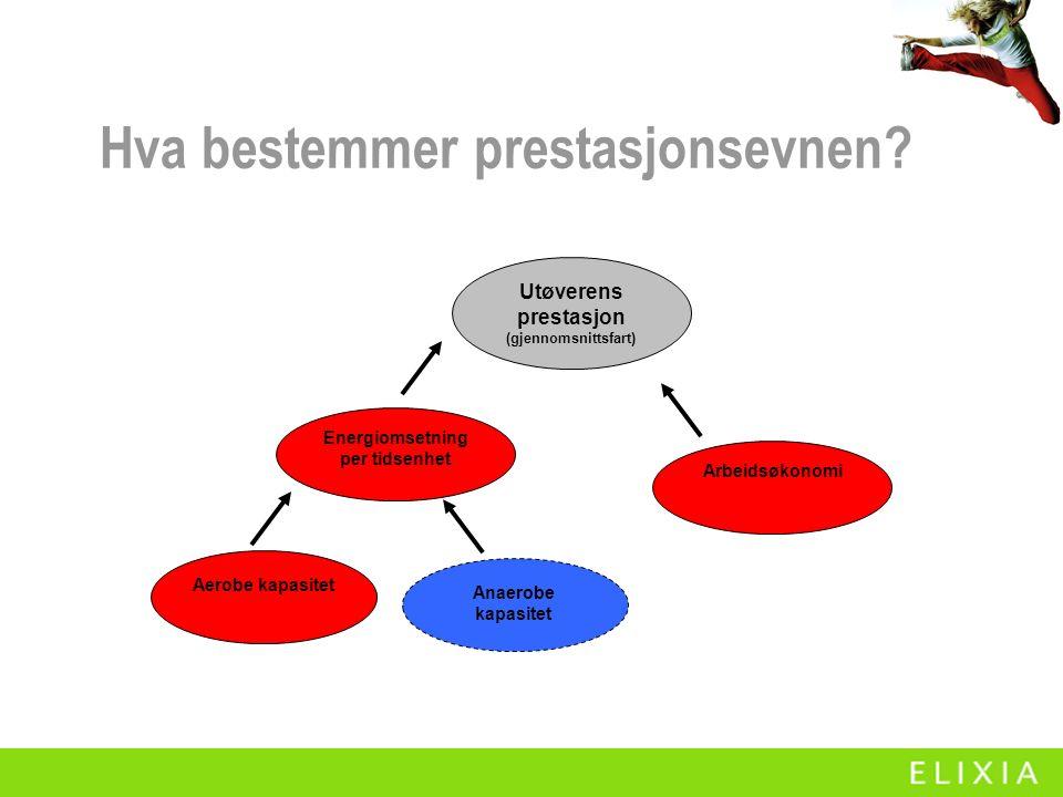 Hva bør testes for best mulig effekt av trening  Konkurranser!.