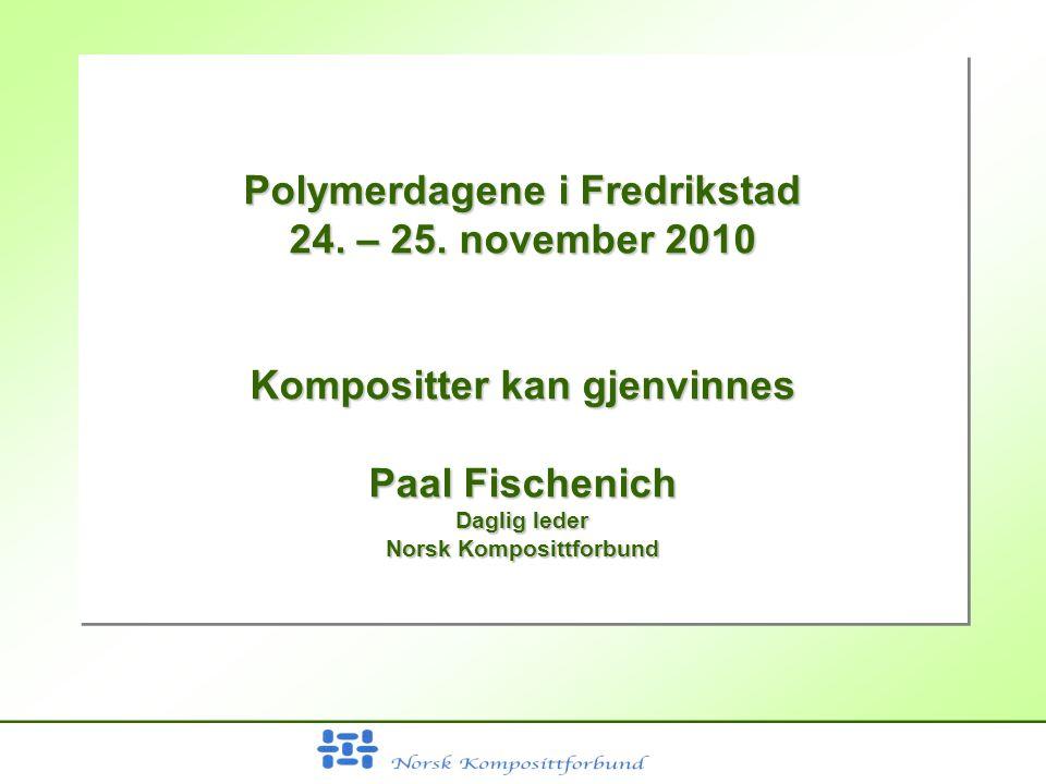 Polymerdagene i Fredrikstad 24. – 25.