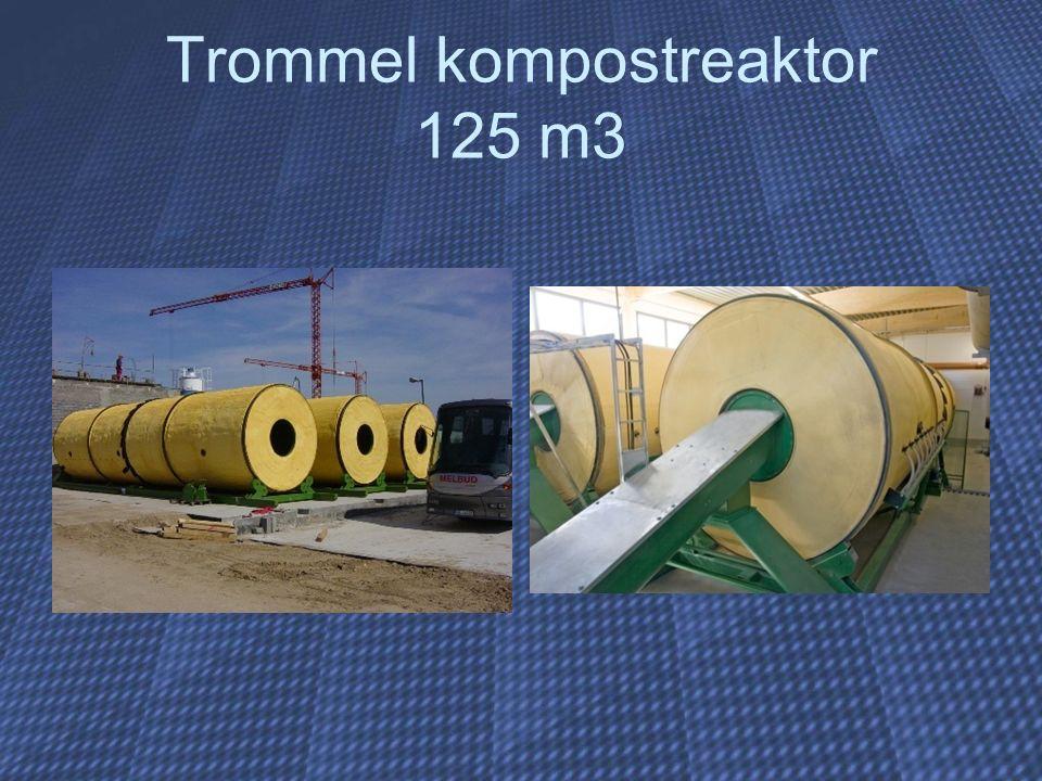 Trommel kompostreaktor 125 m3