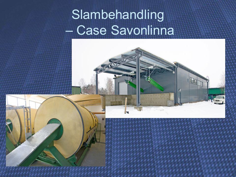 Slambehandling – Case Savonlinna