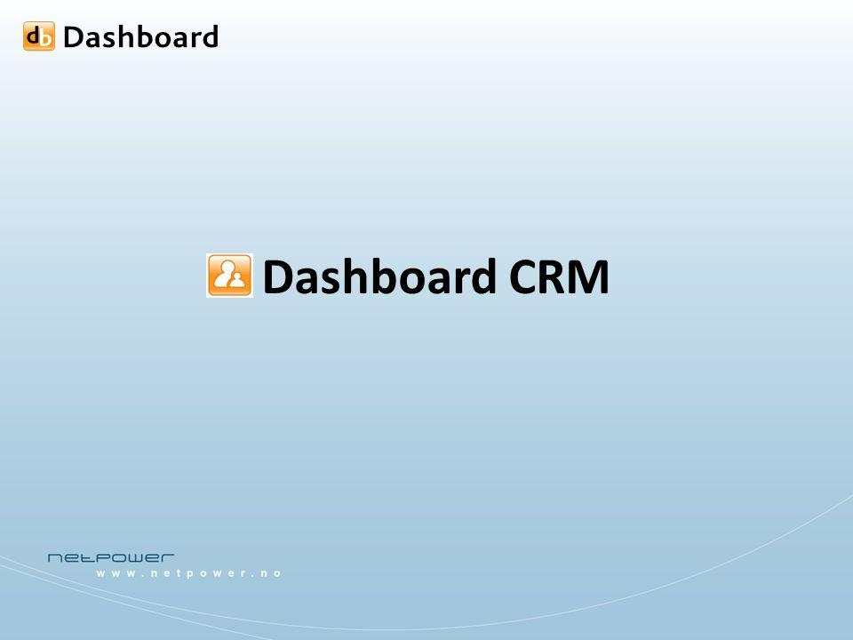 Dashboard CRM