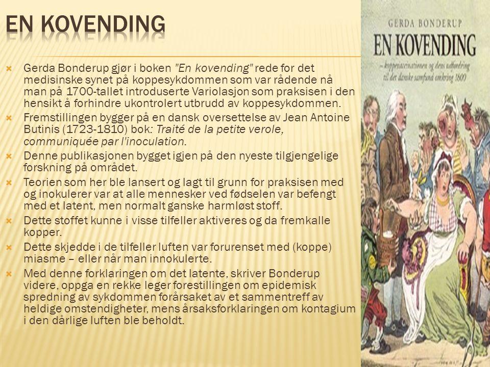  Gerda Bonderup gjør i boken