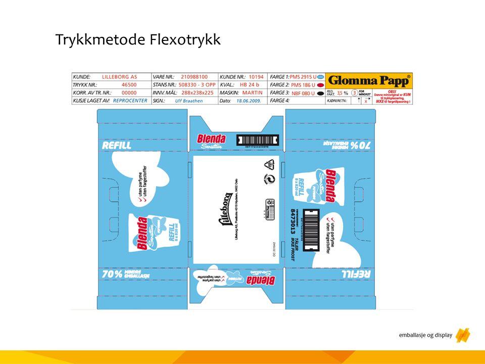 Materialtesting Trykkmetode Flexotrykk