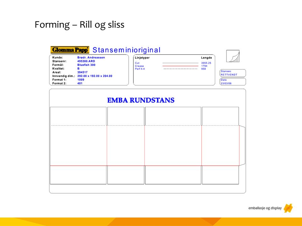 Materialtesting Forming – Rill og sliss