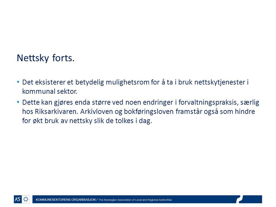 Nettsky forts.