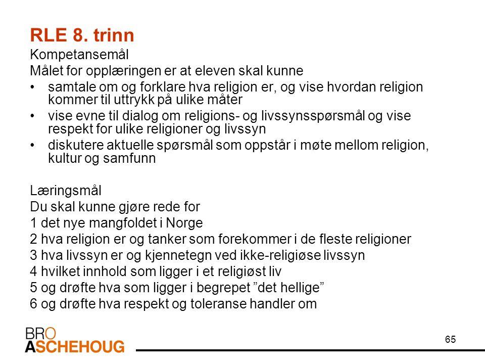 65 RLE 8.