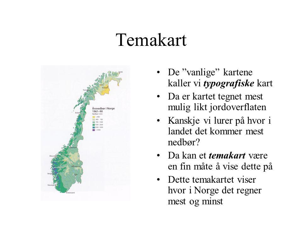 Eksempel på et kart