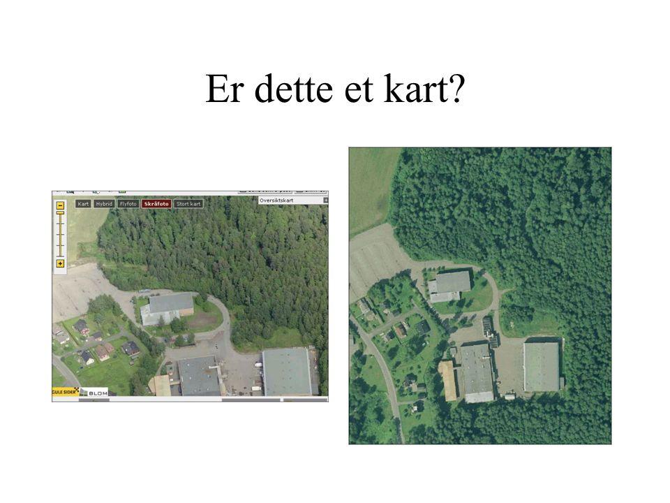 """Hvorfor kan ikke dette være et """"kart""""? Et fotografi forteller ikke nøyaktig om høyder! Et fotografi forteller ikke nøyaktig om avstander! Det står ikk"""