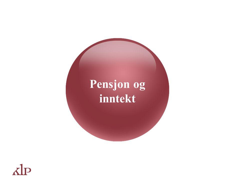 Pensjon og inntekt