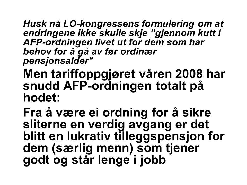 Det betyr: ikke lenger pensjonistskatt for uføre Dagens - skatt som pensjon: Trygdeavgift 3 prosent (mot vanlig 7,8) Skattebegrensningsregelen – innebærer bl.a.