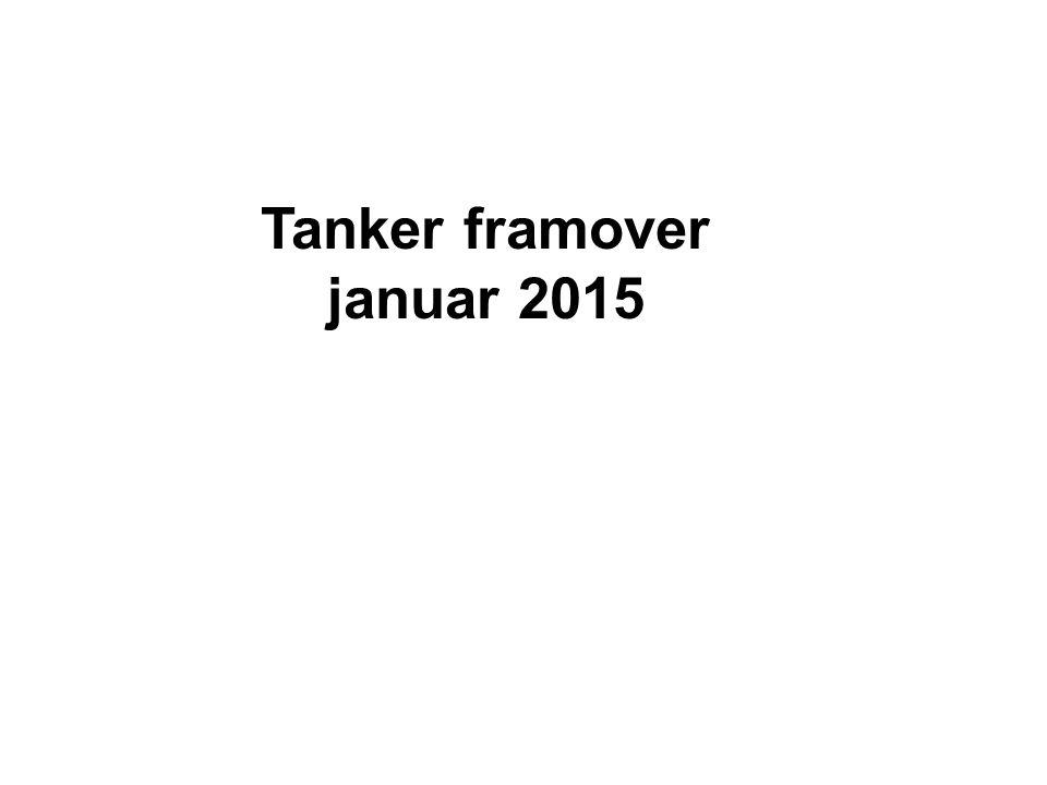 Tanker framover januar 2015