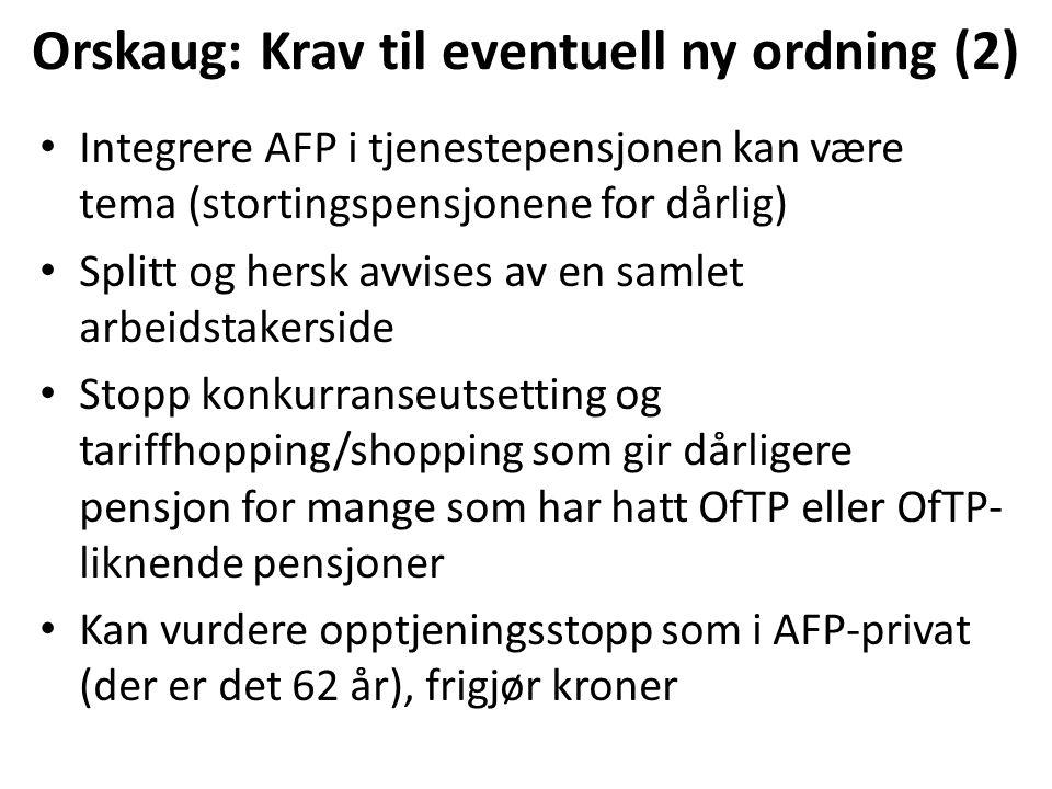 Steinar Fuglevaag, Fagforbundet: Vi må gjøre det i riktig rekkefølge….