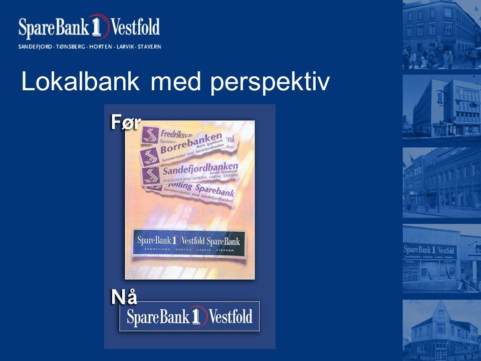 Lokalbank med perspektiv