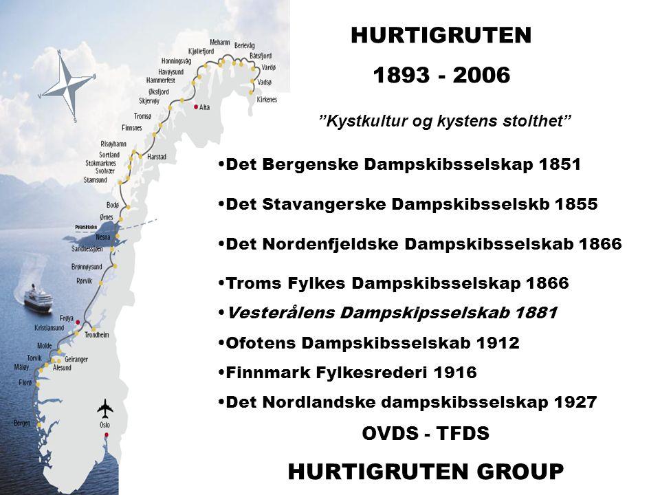 2006 MS Midnatsol MS Trollfjord MS Finnmarken MS Polarlys MS Nordkapp MS Nordnorge MS Richard With MS Nordlys MS Kong Harald MS Vesterålen MS Narvik MS Lofoten – MS Nordstjernen – MS Lyngen