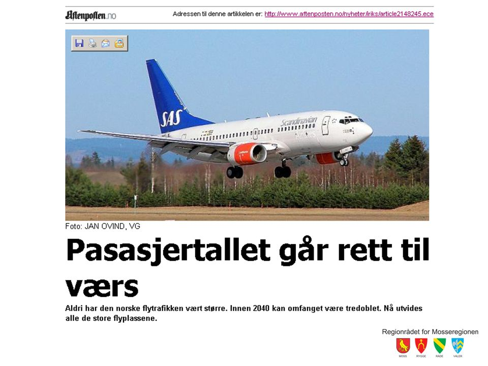 Siden sist Norwegian inn som operatør (med brask og bram) Rygge Air Show Åpning av flyplassen Rammer og avtaleverk –Søknad om forlenget åpningstid –Dr