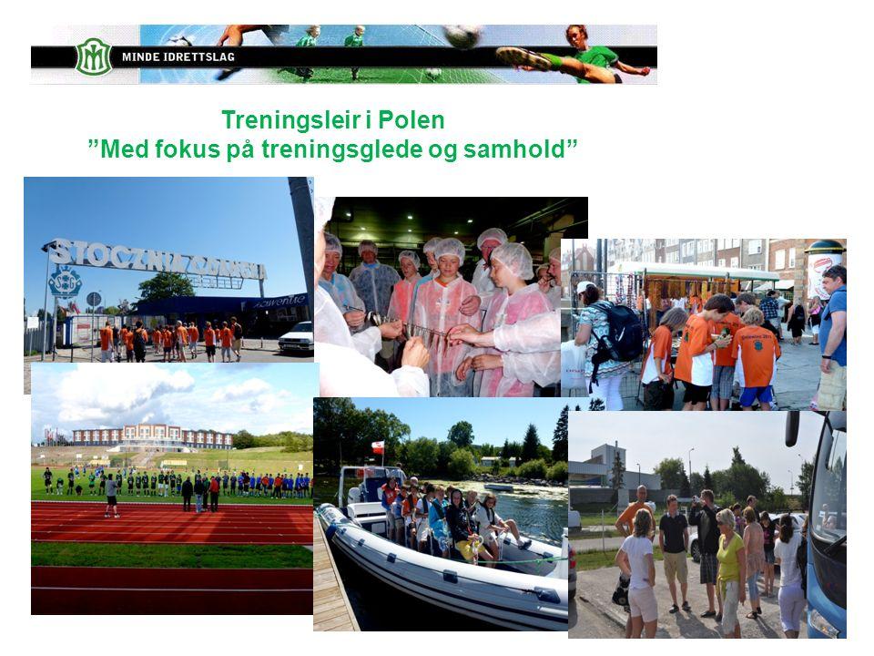 """Treningsleir i Polen """"Med fokus på treningsglede og samhold"""""""