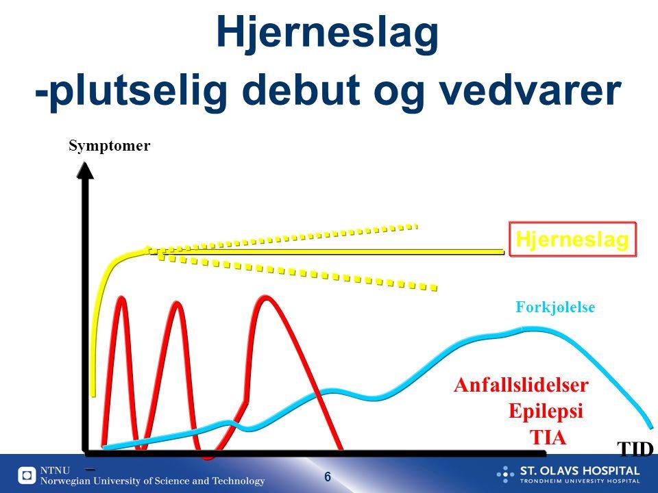 37 Nasjonal informasjons kampanje kommer muligens Høst 2016 - Vår 2017 Kampanje i Midt Norge 2012-13