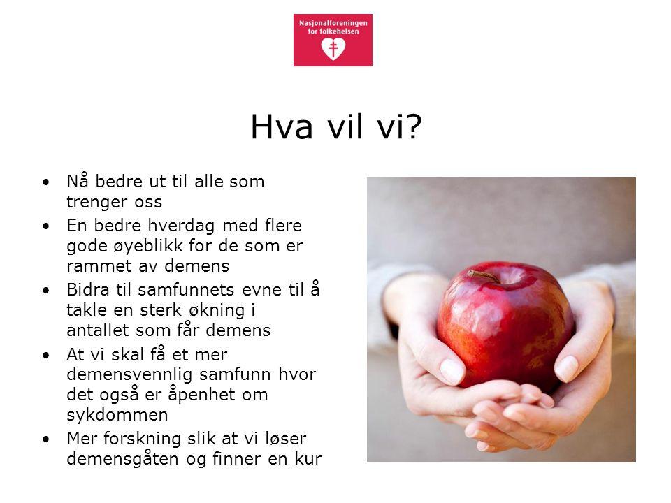 Normal aldring eller demens.Anders Martin Fjell, UIO Hvilken rolle spiller arv.