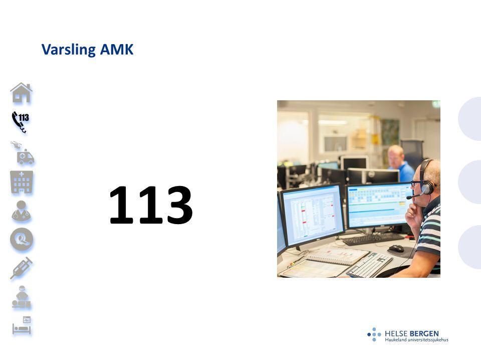 Varsling AMK 113