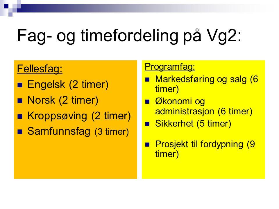 Kart alle retningene har mulighet for påbygging til generell studiekompetanse etter VG2, altså VG3 påbygging til generell studiekompetanse Kart Kart Alle retningene har mulighet for påbygging til generell studiekompetanse etter VG2, altså VG3 påbygging til generell studiekompetanse Det er mulighet for påbygging til generell studiekompetanse etter VG2, altså VG3 påbygging til generell studiekompetanse Man kan også velge VG4 påbygg til generell studiekompetanse om man etter ferdig lærling ønsker å få generell studiekompetanse Service og samferdsel salg, service og sikkerhet lærling i salgsfaget (fagbrev salgsmedarbeider ) Lærling i sikkerhetsfaget (fagbrev vekter) Lærling i kontor- og administrasjonsfaget (fagbrev kontor- og administrasjonsmedarbeider)