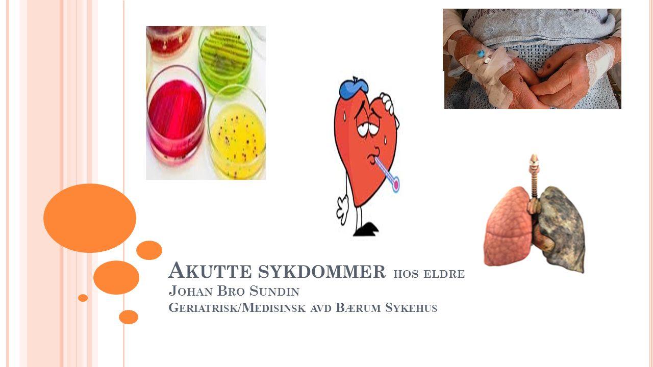 B EHANDLING .Pneumoni er mest sannsynlig diagnose.