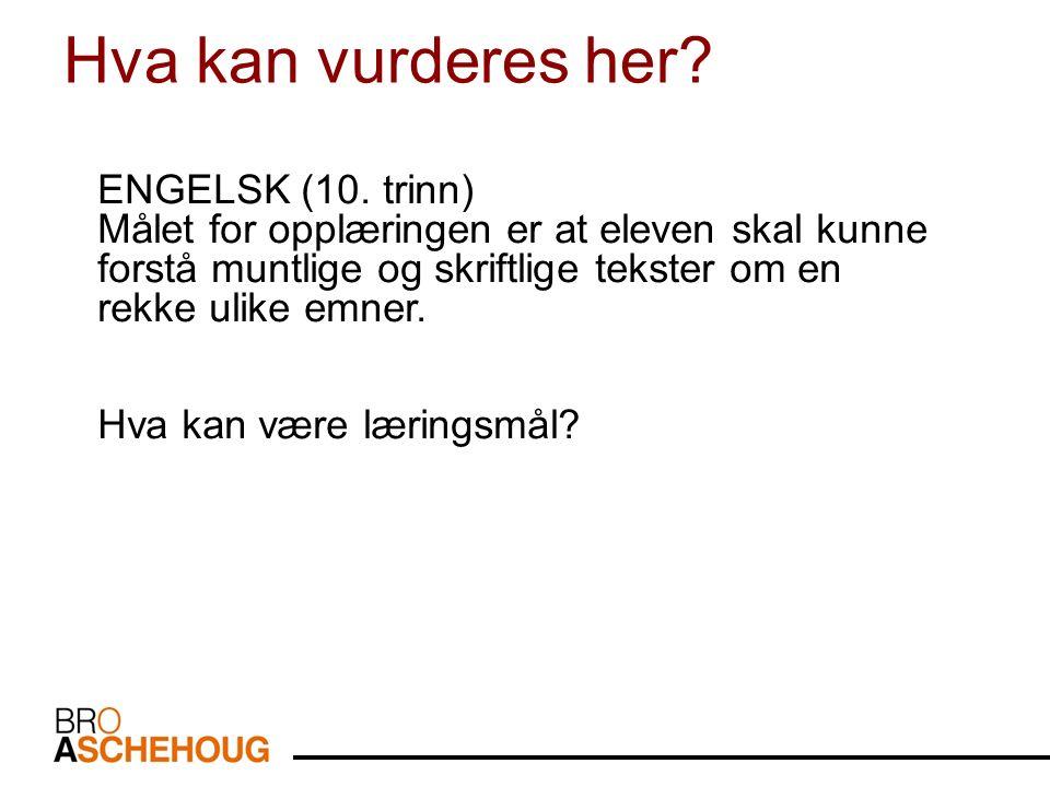 ENGELSK (10.